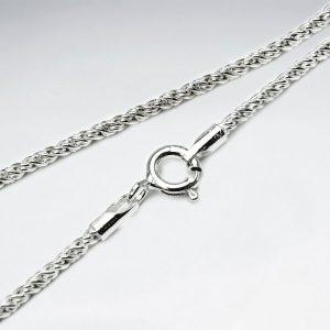 Chaîne en argent 925 style corde