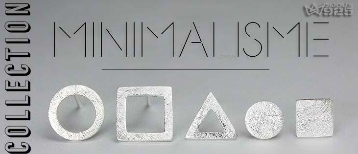 Minimalisme Art Bijoux Argent