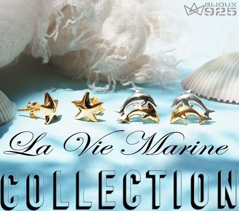 Bjoux Argent Vie Marine