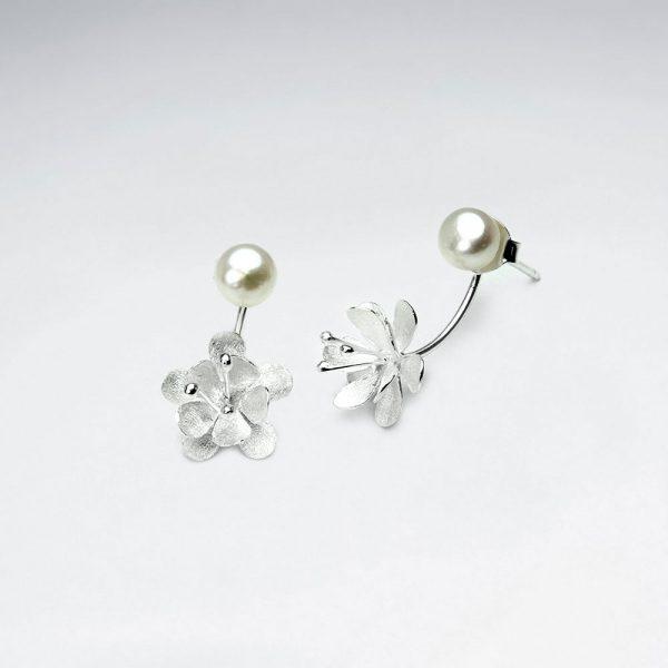 Boucles d'Oreilles Perle Synthétique