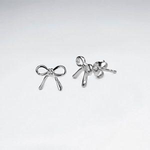 Boucles d'oreilles Forme Noeud Papillon