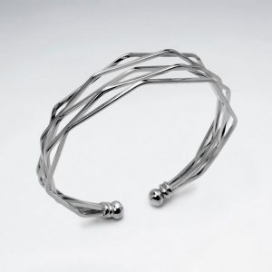 Bracelet Jonc Semainier Angulaire