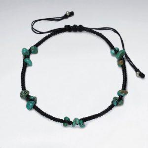 Bracelet Turquoise Coton Ciré cotton bracelet turquoise p2713 8450 zoom