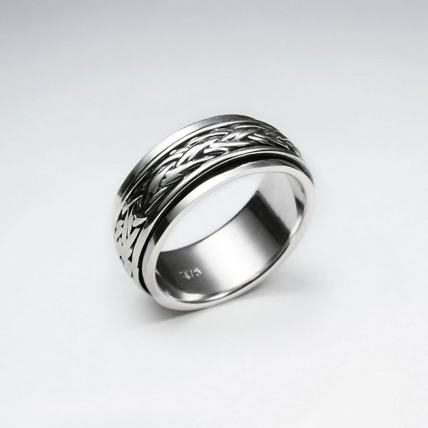 oxidized silver braided twist ring p6235 19592 zoom