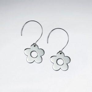 Charme Classique Boucles d'oreilles a Fleur