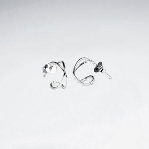 Puce d'oreilles Demie Cercle Tubulaires